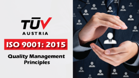 ISO 9001:2015 Quality Management Principles TUV Austria