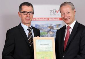 Certified Green Power TUV Austria
