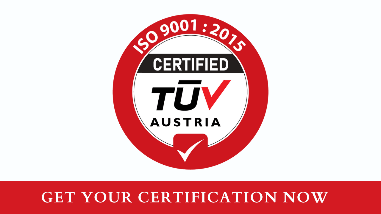 TUV Austria ISO 9001 2015